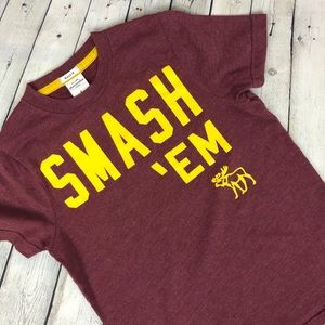 """abercrombie KIDS Graphic Muscle Tee - """"Smash 'em"""""""